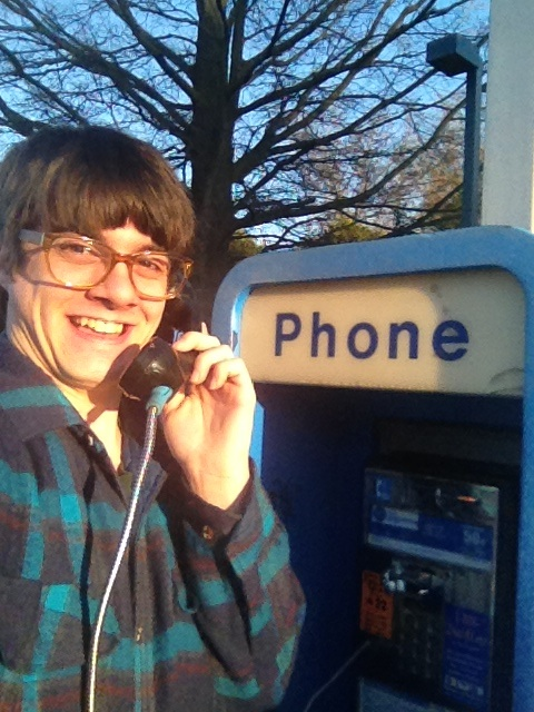 I found a payphone!